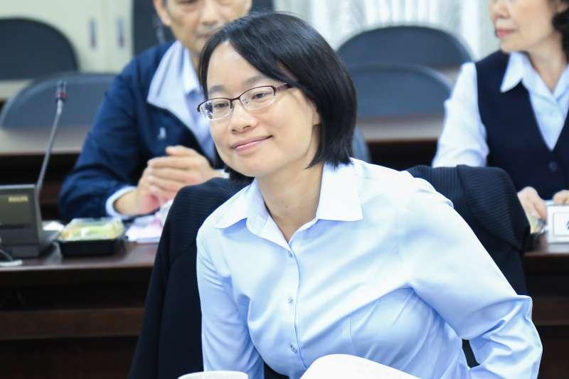 20181129-北農總經理吳音寧29日出席北農董事會。(簡必丞攝)