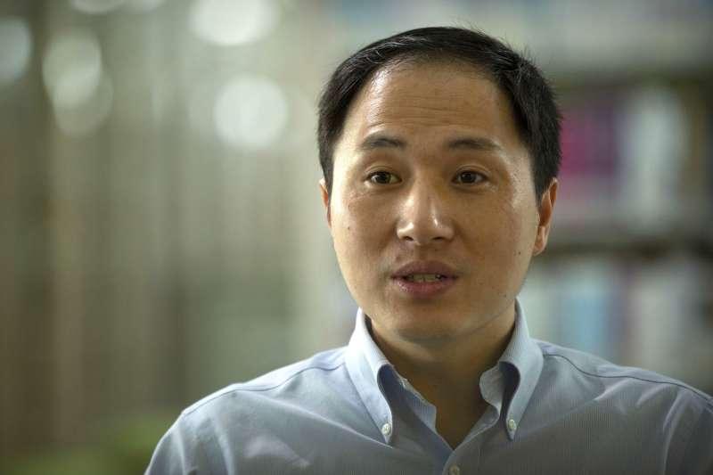 以「基因編輯嬰兒」引發軒然大波的中國科學家賀建奎(AP)