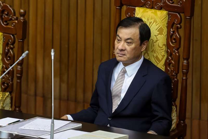 20181130-立法院長蘇嘉全30日主持國是論壇。(顏麟宇攝)