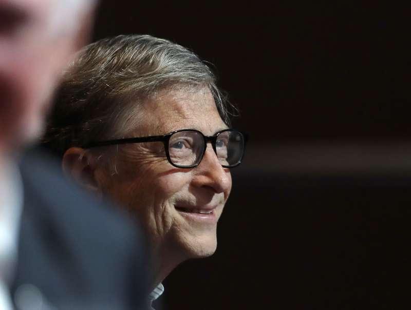 微軟創辦人比爾.蓋茲(Bill Gates)(AP)
