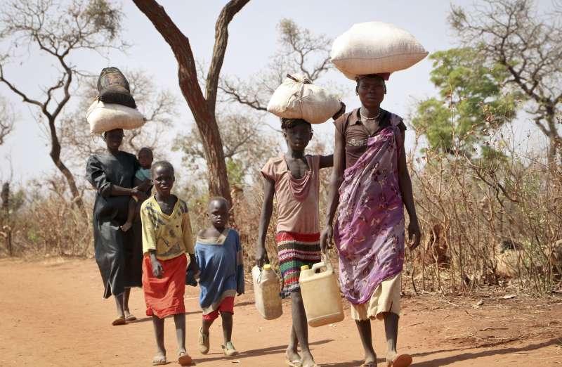 南蘇丹。(AP)