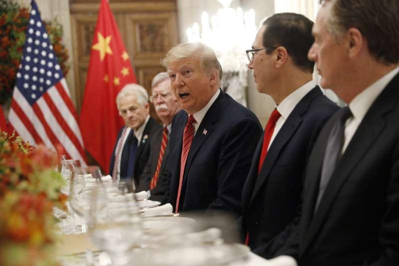 中美貿易戰:美國總統川普與中國國家主席習近平達成暫時協議(AP)