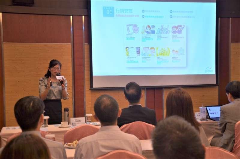 眾匯智能健康執行長李昕亮指出,醫聯網平台上目前有一百多家健檢機構進駐營運,三月(圖提供/眾匯智能健康)