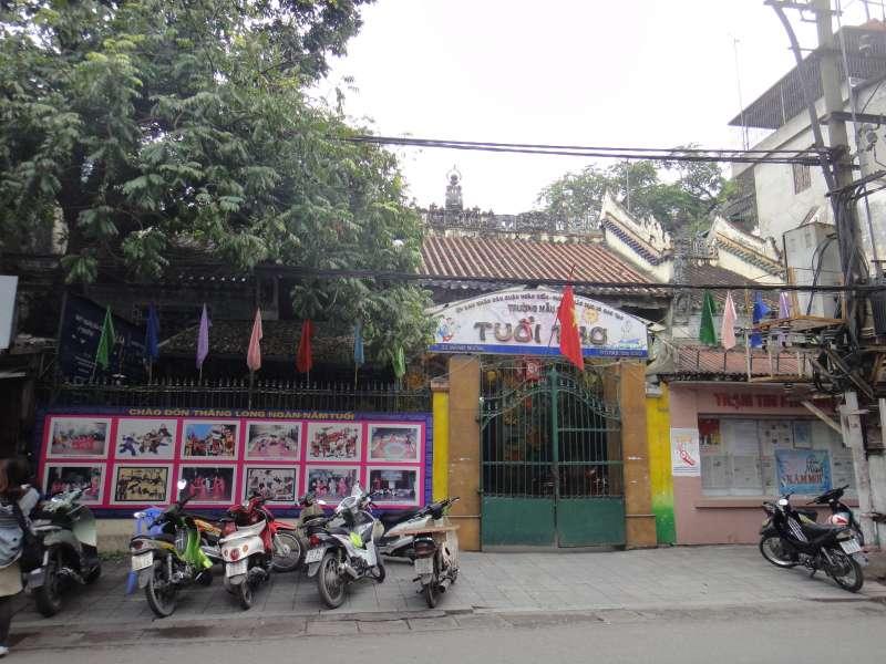 河內粵東會館舊址現況。(圖/想想論壇)