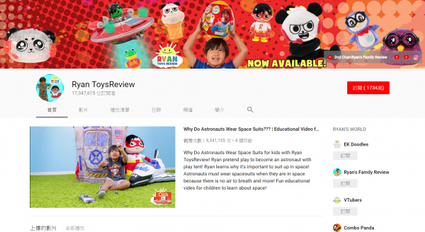 (圖/Ryan ToysReview@ youtube)