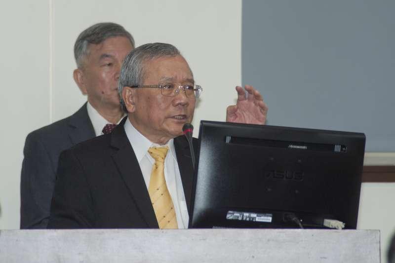 20181206-立法院經濟委員會,中油董事長戴謙備詢。(甘岱民攝)