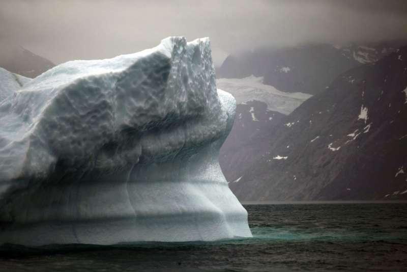 格陵蘭島20年來融冰速度加快。(AP)