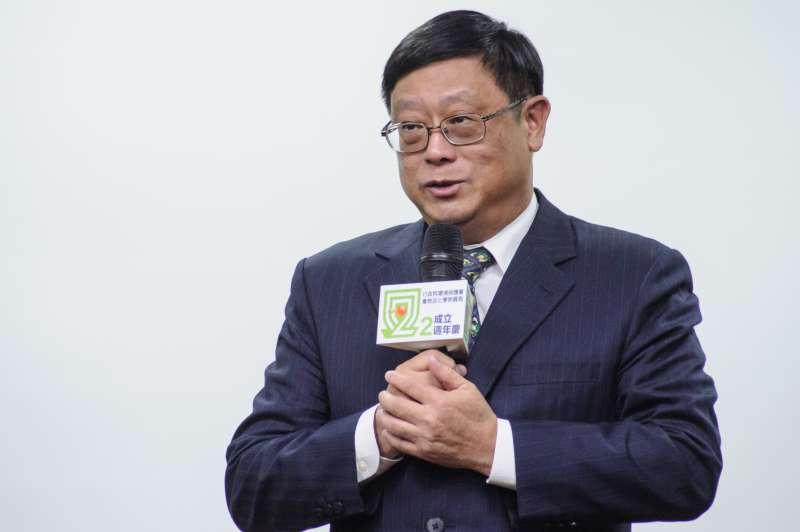 20181207-食安五環之第一環「源頭管理論壇」,環保署副署長張子敬。(甘岱民攝)
