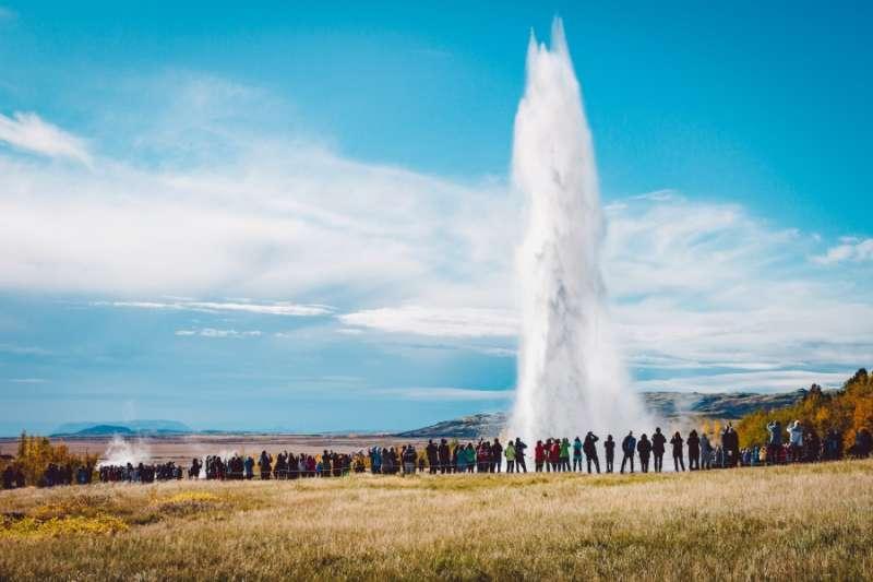 蓋歇爾&史托克間歇噴泉(Geysir & Strokkur)(圖/kkday)