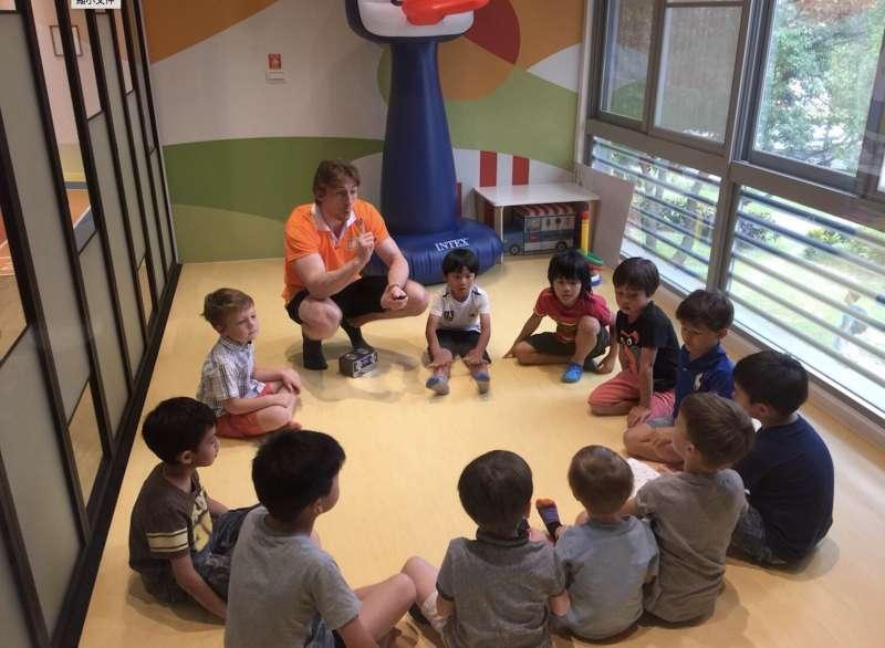 全英環境幫助孩子自然學習第二母語(圖/ Graceful Hands TW)