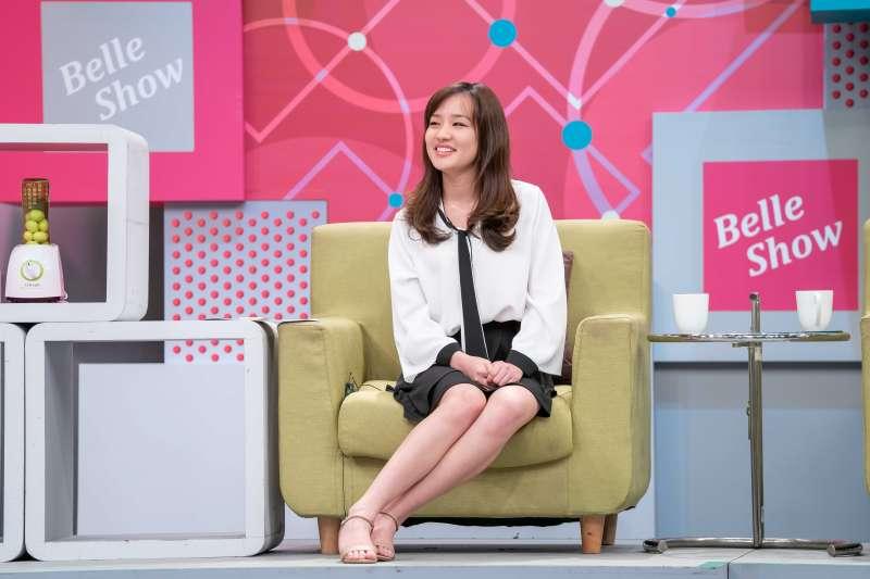 20181211_TVBS節目《國民大會》邀請韓冰暢談高雄願景。(TVBS提供)