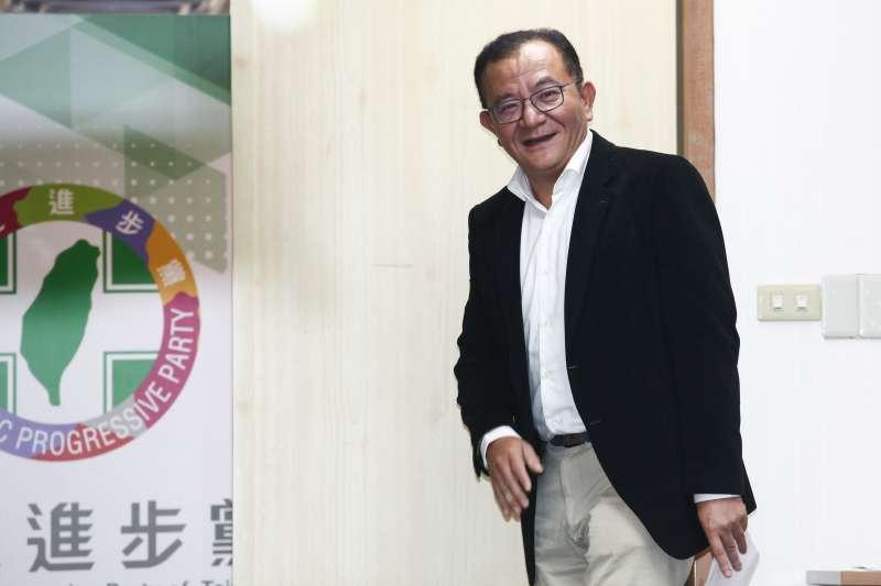 20181212-民進黨中常會。圖為高志鵬。(蔡親傑攝)