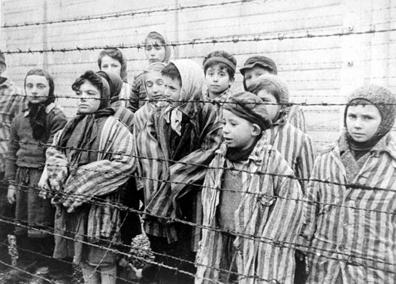 二戰期間的納粹集中營內也有許多猶太孩童。(圖/Wikipedia)