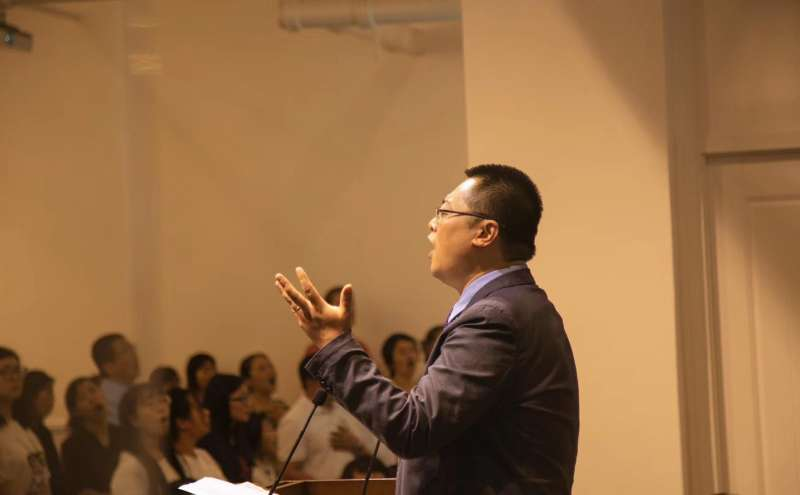 中國四川成都秋雨聖約教會牧師王怡。(翻攝秋雨聖約教會臉書)