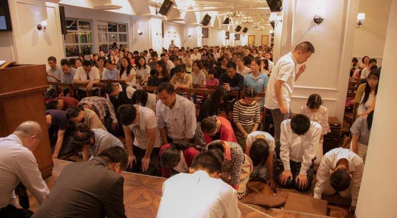 中國成都秋雨聖約教會有百名成員被警方逮捕(翻攝秋雨聖約教會臉書)