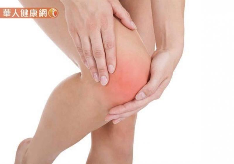 20181213-膝關節嚴重退化性關節炎的人,不適合做雙盤腿。(圖/華人健康網提供)