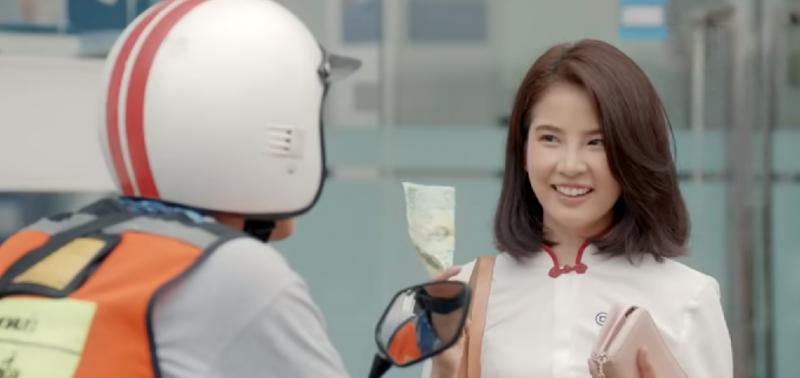 泰國電影《騎機男孩》,泰國女星Fon飾演女主角(截自YouTube)