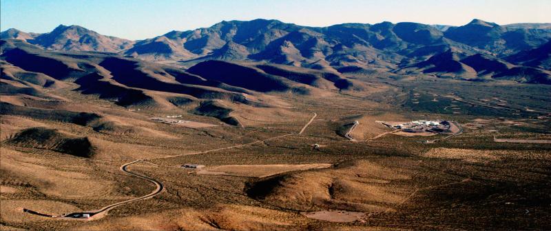 20181215-風數據/核一除役專題。美國:尤卡山。(取自Yucca mountain project網站)
