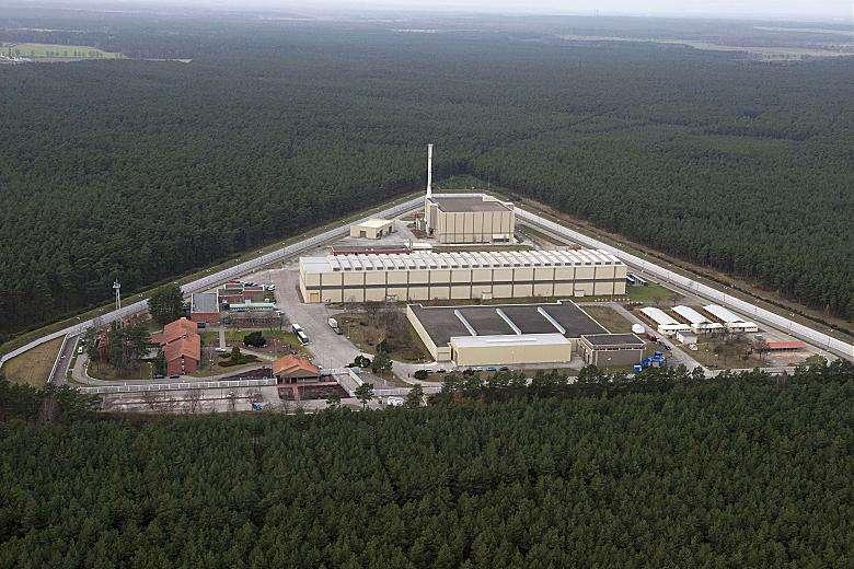 20181215-風數據/核一除役專題。德國:Gorleben地面型室內高階核廢料暫存場。(取自奧地利政府科學、創新及工業部門官網)