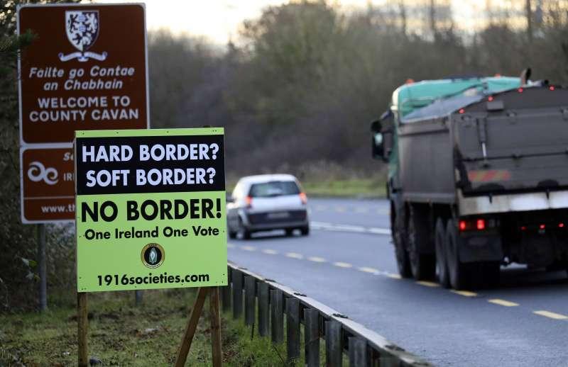 英國領土北愛爾蘭與歐盟成員國愛爾蘭之間的邊界,成為英國脫歐最棘手的議題(AP)