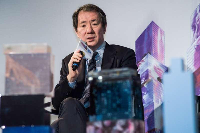 20181217-香港商南海發展 台北CITY ONE團隊新聞發布會,南海控股主席于品海。(甘岱民攝)
