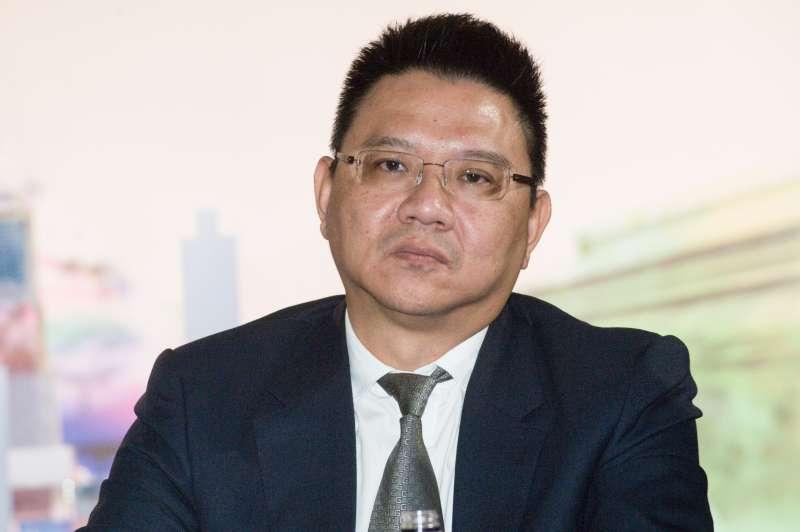 20181217-香港商南海發展 台北CITY ONE團隊新聞發布會,台灣建築師陳廷杰。(甘岱民攝)
