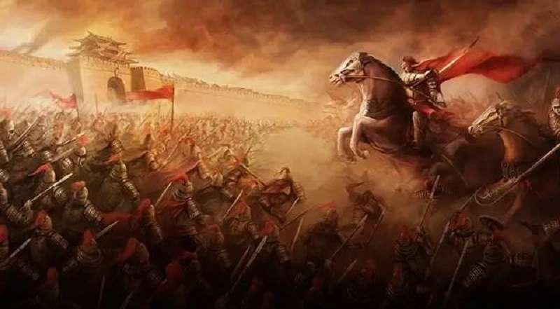 吳三桂不迎清兵入關由李自成稱王的結果,可能就是「人心思明」,如果藍綠繼續惡鬥,結果也會是民心思變只想結束痛苦。(網路示意圖)