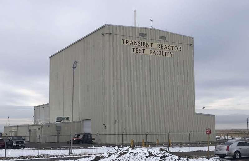 美國愛達荷州的愛達荷國家實驗室暫態試驗反應爐(Transient Test Reactor),中斷23年後,去年重啟核能試驗。(AP)