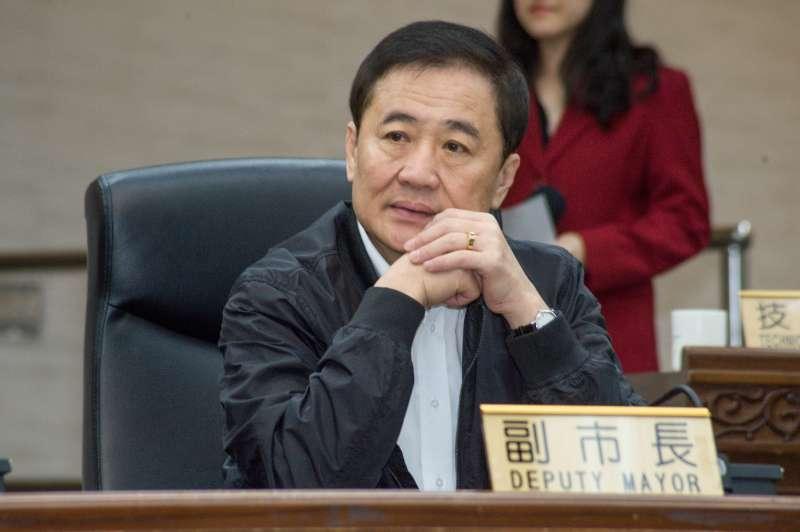 20181218-台北市政府團隊總辭典禮,台北市副市長陳景峻。(甘岱民攝)