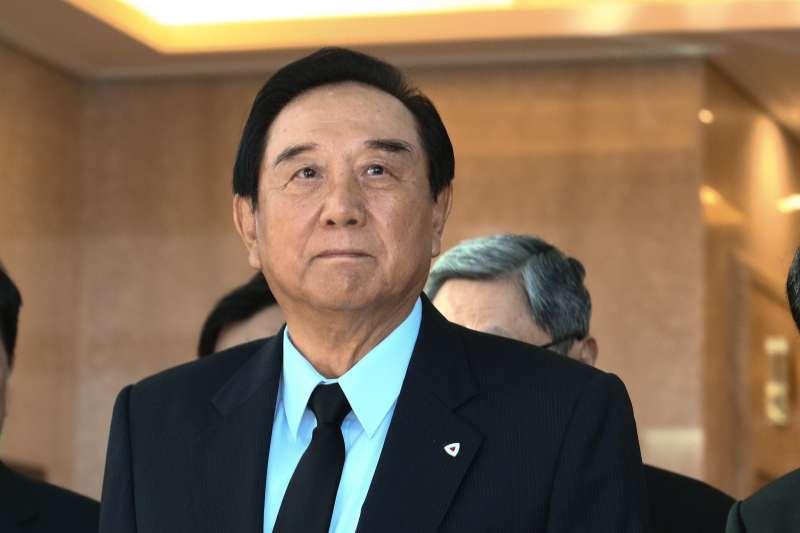 20181220-陳雲林到海基會弔唁已故前海基會董事長江丙坤。(蔡親傑攝)