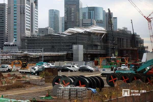 站體工程即將完成的品川新站,日前已由JR東日本,公布新站名「高輪Gateway」,然而卻引來負評。(圖/想想論壇)
