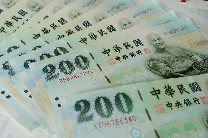 目前還有較少發行的200元紙鈔印有蔣中正的肖像。(圖/Chi-Hung Lin@flickr)