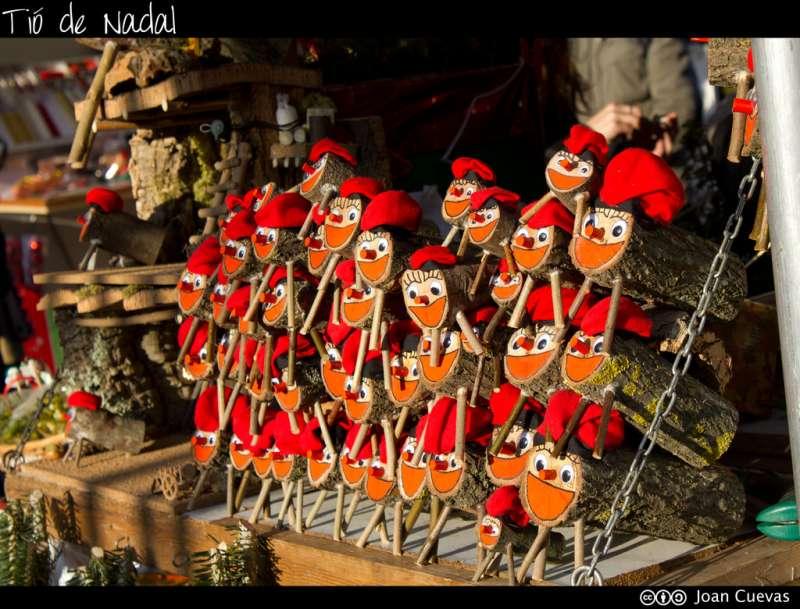 加泰隆尼雅的聖誕小木頭人。(圖/取自flickr)