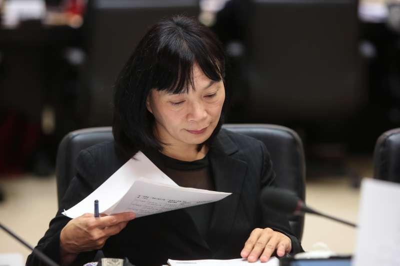 20181222-促轉會代理主委楊翠22日出席「監察院107年巡察行政院會議」。(顏麟宇攝)