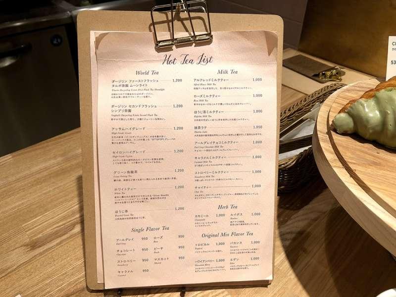 二樓有其他菜單,甜點和飲品都有更多選擇,可以自由搭配自己的風格。(圖/KKday)