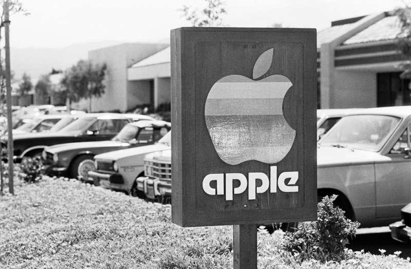 1983年蘋果位於加州的總部。(圖/愛范兒ifanr)