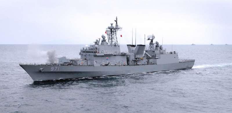 廣開土大王號驅逐艦。(南韓國防部)