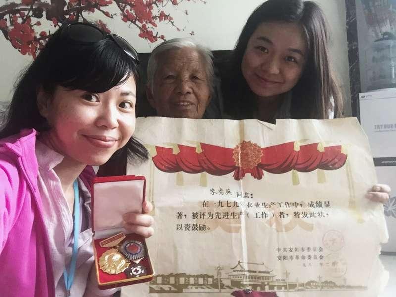 王舒俐一趟「無心插柳」的田野調查,為中國河南安陽小村的「地方營造」歷程,留下了珍貴的記錄與觀點。(圖/研之有物)