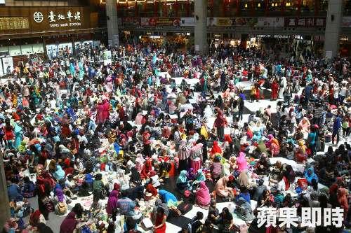超越台灣原住民人數,成為台灣第二大族群的台灣新住民。(圖/想想論壇)