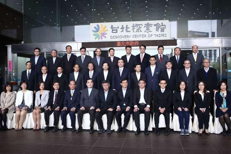20181225-台北市柯文哲出席第7屆民選市長、副市長及一級機關政務首長宣誓就職典禮。(陳品佑攝)