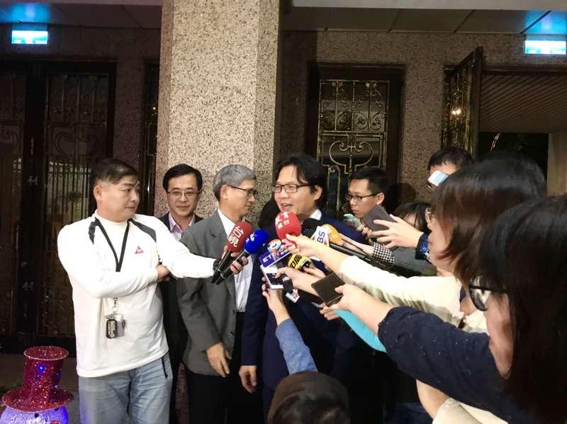 20181225-教育部長葉俊榮。(吳尚軒攝)