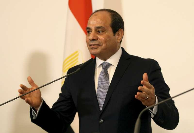 埃及總統塞西(Fattah el-Sissi)雖是民選總統,但已儼然成為另一位「大獨裁者」。(AP)
