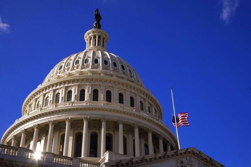 美國國會大廈。(美聯社)