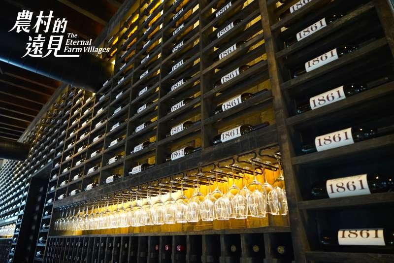 每一瓶葡萄酒都是一件藝術品。(圖/公視提供)