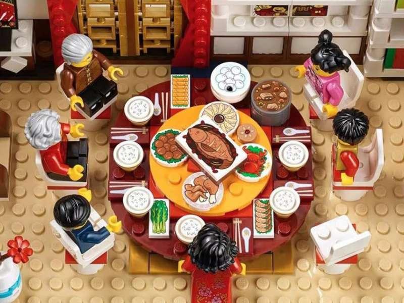 縮小版的年夜飯真的超可愛的!(圖/城市美學新態度)