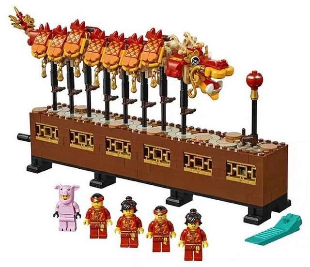舞龍是中國新年不可少的一個傳統活動。(圖/城市美學新態度)