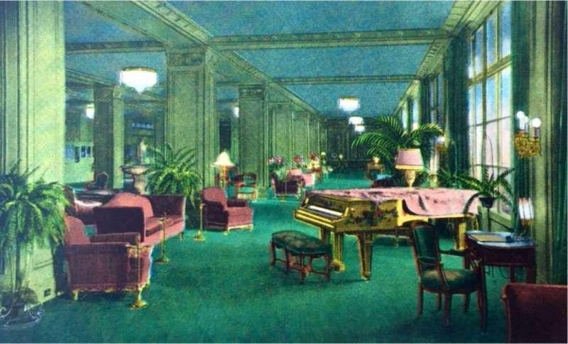 Ambassador Hotel飯店一景。(圖/瘋設計)