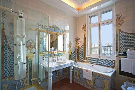 Caesars Palace in Las Vegas浴室。(圖/瘋設計)