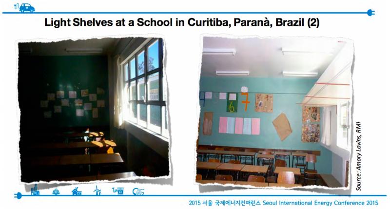 經改造讓自然光更透入教室,不但可以省電,還能提升學生學習效率。(施耐德提供)