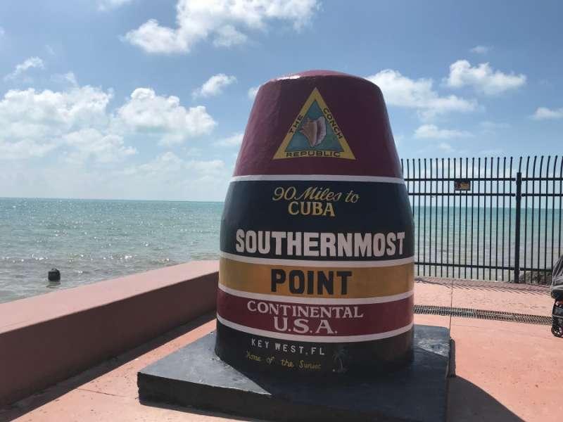 基韋斯特極南點 Key West-Southernmost Point(圖/kkday)